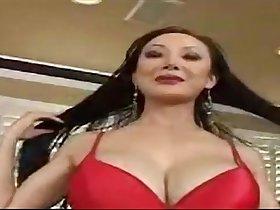 Nasty Asian mature woman