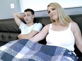 Joslin Jane in Step Mom with HUGE Tits is Always Horny