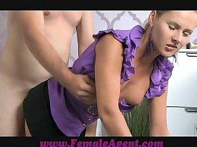 FemaleAgent Casting agent fucked good and hard