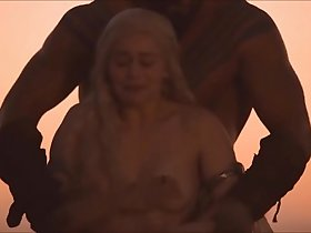 Emilia Clarke all sex scenes in Game of Thrones - watch full at celebpornvideo.com