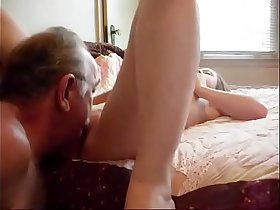 Real dad and daughter hidden cam