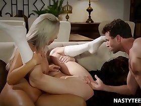 Babysitter wants to squirt! - Nina Elle, Zoe Parker, James Deen