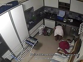 Brazilian Milf Caught On CCTV Doing Laundry Nude