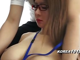KOREA1818.COM - Pretty Korean in Glasses